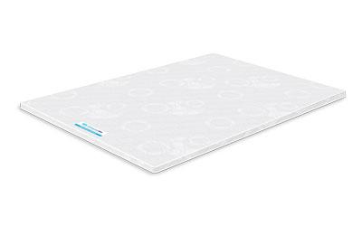 Colchoneta ADS memory foam 40 kg de 5 cm king size